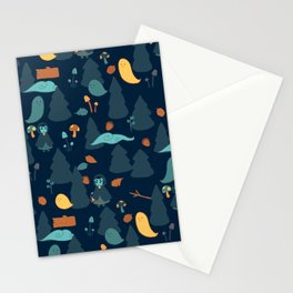Haunted Forest Stationery Cards