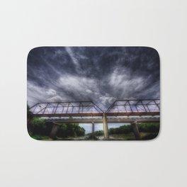 The Brazos Point Bridge Bath Mat
