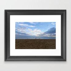 Running free Framed Art Print