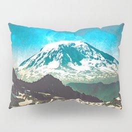 Mt Adams from Mt Rainier Washington State - Nature Photography Pillow Sham