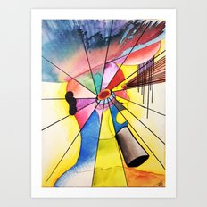 Overthink Art Print