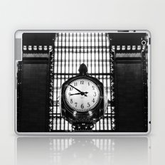 Clock in Grand Central Terminal Laptop & iPad Skin