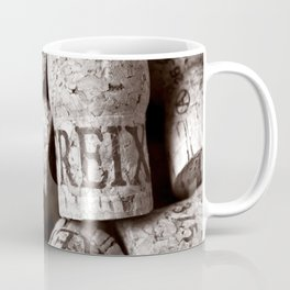 Cork of Champagne - Brown Duplex Coffee Mug