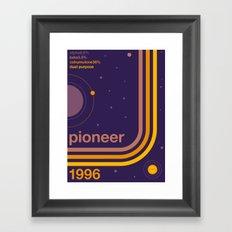 pioneer single hop Framed Art Print