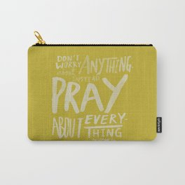 Dont Worry, Pray x Mustard Carry-All Pouch