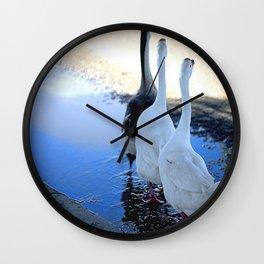 Beautiful Geese Wall Clock
