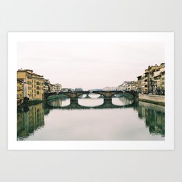 Arno Florence on film # 2 Art Print