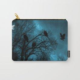 Night Wisdom Carry-All Pouch