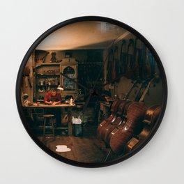 The Violin Man Wall Clock