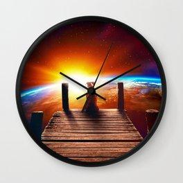 The Lone Companion Wall Clock
