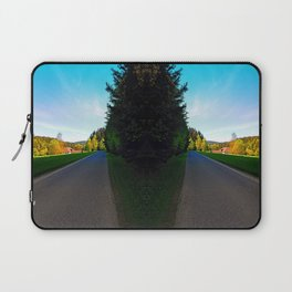 Country road on a spring afternoon | landscape photography Laptop Sleeve