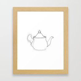 """ Kitchen Collection "" - Tea pot Framed Art Print"