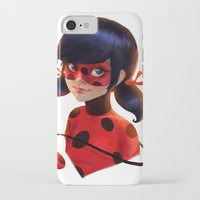 ladybug iPhone & iPod Cases featuring Ladybug by ChrySsV
