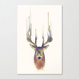 Deer // Steadfast Canvas Print