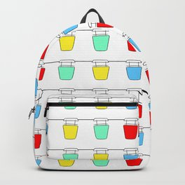 Colorful Sky Gliders Backpack