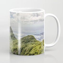 Mauritius, green mountain Coffee Mug