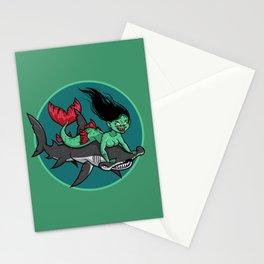 Mermaid Mayhem Stationery Cards