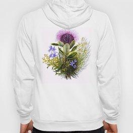 Vintage Wildflowers Thistle Hoody