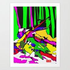 Twig Fang Art Print