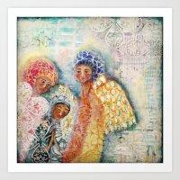 Presence of Angels  Art Print