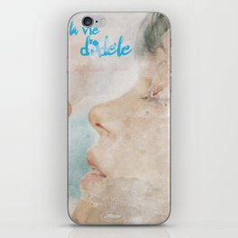 La vie d'Adele, movie poster - chapter two - alternative playbill iPhone Skin