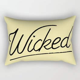Wicked Rectangular Pillow