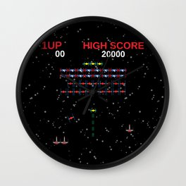 Galaga Wars Wall Clock