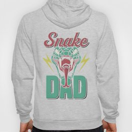 Snake Dad Funny Python Lover Gift Hoody