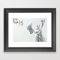 Hungry? Framed Art Print