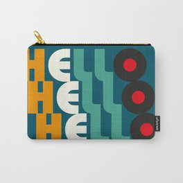 Hello Hello Hello Carry-All Pouch
