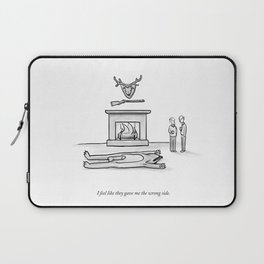 The Wrong Side Laptop Sleeve
