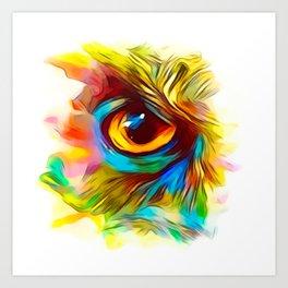 Abstract Eye Art Prints Society6