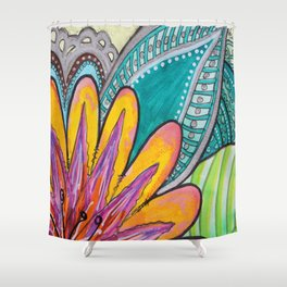 Feliz Shower Curtain