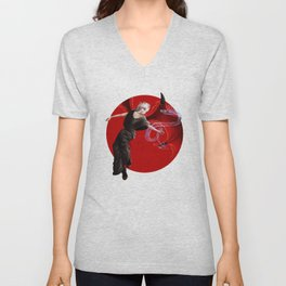 Little devil Unisex V-Neck