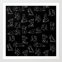 nudeart Art Print