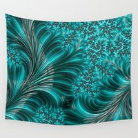 underwater Wall Tapestries featuring Underwater by Steve Purnell