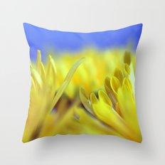 Yellow flowers 277 Throw Pillow