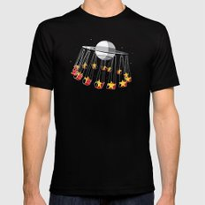 Chairoplanet Black Mens Fitted Tee MEDIUM