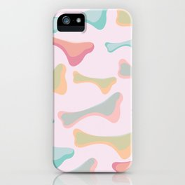 abstract bone iPhone Case
