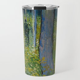 Undergrowth with Two Figures Travel Mug
