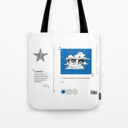 incognito/BEYOND THE CLOUDS Tote Bag