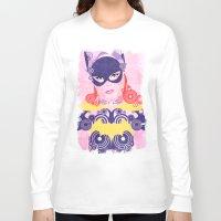 batgirl Long Sleeve T-shirts featuring Batgirl 60 by Joshua A. Biron
