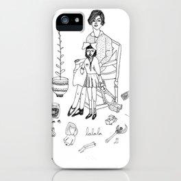 lalala iPhone Case