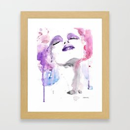 Rosa (pink) four Framed Art Print