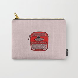 Poesía typewriter Carry-All Pouch
