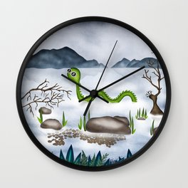 Loch ness moster Wall Clock