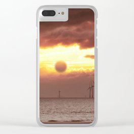 the windfarm Clear iPhone Case
