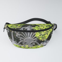 Ironwork in the Hedge Fanny Pack
