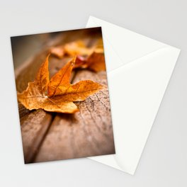 Autumn Cometh Stationery Cards
