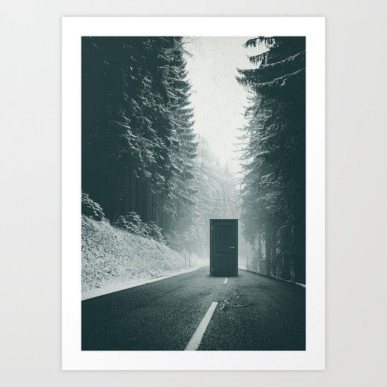 Middle Art Print